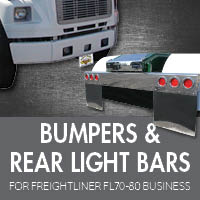 Bumpers for Freightliner FL70-80 Business Class