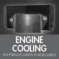 Engine Cooling for Freightliner FL70-80 Business Class
