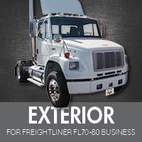 Exterior Parts for Freightliner FL70-80 Business Class