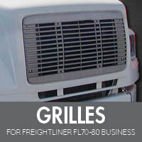 Grilles for Freightliner FL70-80 Business Class