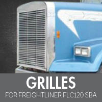 Grilles for Freightliner FLC120 Set Back Axle