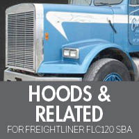 Hoods & Related for Freightliner FLC120 Set Back Axle