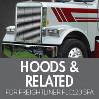 Hoods & Related for Freightliner FLC120 Set Forward Axle