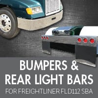 Freightliner FLD 112 Set Back Axle Bumpers