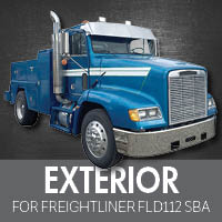 Exterior Parts for Freightliner FLD112 Set Back Axle