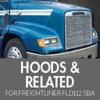 Hoods & Related for Freightliner FLD112 Set Back Axle