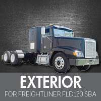 Exterior Parts for Freightliner FLD120 Set Back Axle