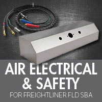Air Electrical & Safety for Freightliner FLD Set Back Axle