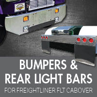 Bumpers for Freightliner FLT Cabover