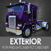 Exterior Parts for Freightliner FLT Cabover