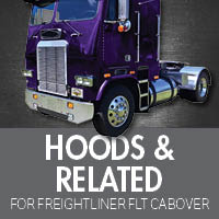 Hoods & Related for Freightliner FLT Cabover