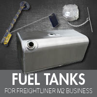 Freightliner M2 Business Class Fuel Tanks