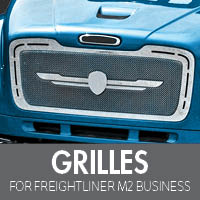 Freightliner M2 Business Class Grilles