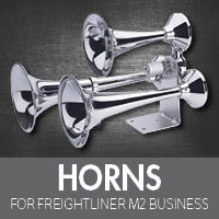 Horns for Freightliner M2 Business Class