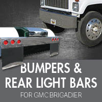 Bumpers for GMC Brigadier