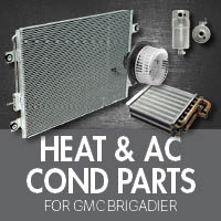 Heat & Air Conditioner Parts for GMC Brigadier