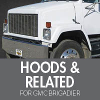 Hoods & Related for GMC Brigadier