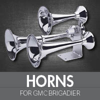Horns for GMC Brigadier