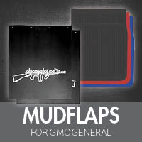 Mudflaps for GMC General