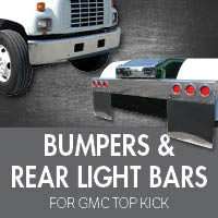 Bumpers for GMC Top Kick