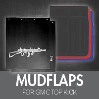 Mudflaps for GMC Top Kick