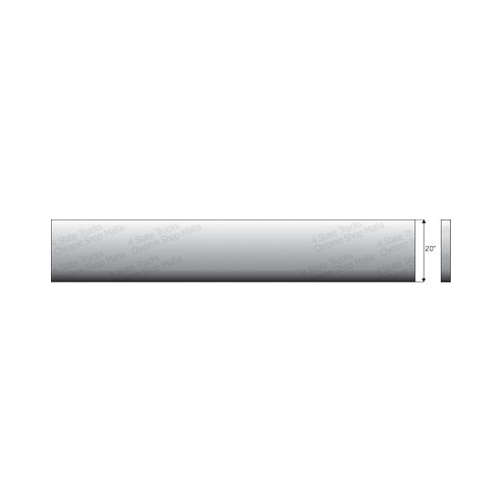 Stainless Steel 20 Inch Boxed End Blind Mount Boltless