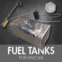Fuel Tanks for Hino 268