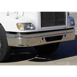 13 Inch Chrome Wrap Around Bumper With Tow & Vent Holes Fits International 9200I & 9400I
