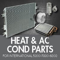 Heat & Air Conditioner Parts for International 5000-7000-8000