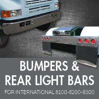 Bumpers for International 8100-8200-8300