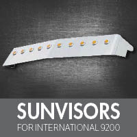 Sun Visors for International 9200