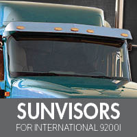Sun Visors for International 9200i