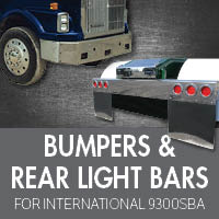 Bumpers for International 9300 SBA