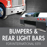 Bumpers for International 9370