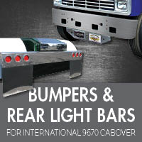 International 9670 Cabover Bumpers