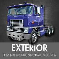 Exterior Parts for International 9670 Cabover