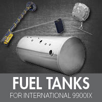 International 9900ix Fuel Tanks