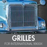 International 9900ix Grilles