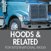 International 9900ix Hoods & Related