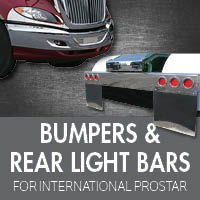 Bumpers for International Prostar
