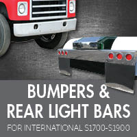 Bumpers for International S1700-S1900