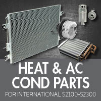Heat & Air Conditioner Parts for International S2100-S2300