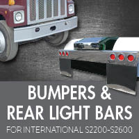 Bumpers for International S2200-S2600