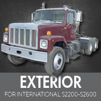 Exterior Parts for International S2200-S2600