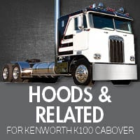 Hoods& Related for Kenworth K100 Cabover