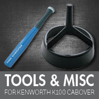 Tools for Kenworth K100 Cabover