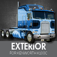 Exterior Parts for Kenworth K100C