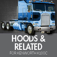 Hoods & Related for Kenworth K100C