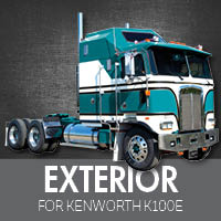 Exterior Parts for Kenworth K100E