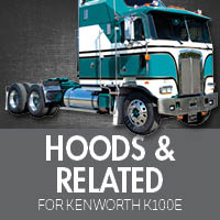Kenworth K100E Hoods & Related